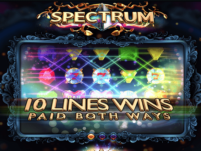 Играть в автомат Spectrum с простой консолью